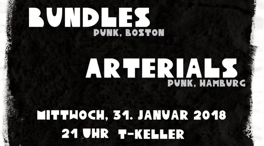 31.01.2018 Konzert mit Bundles & Arterials