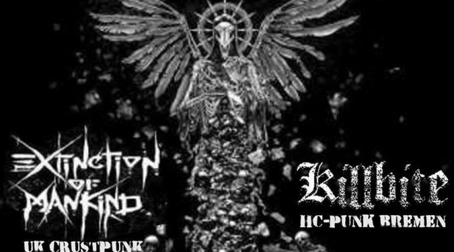 12.05.2018 Konzert mit Extinction of Mankind & Killbite