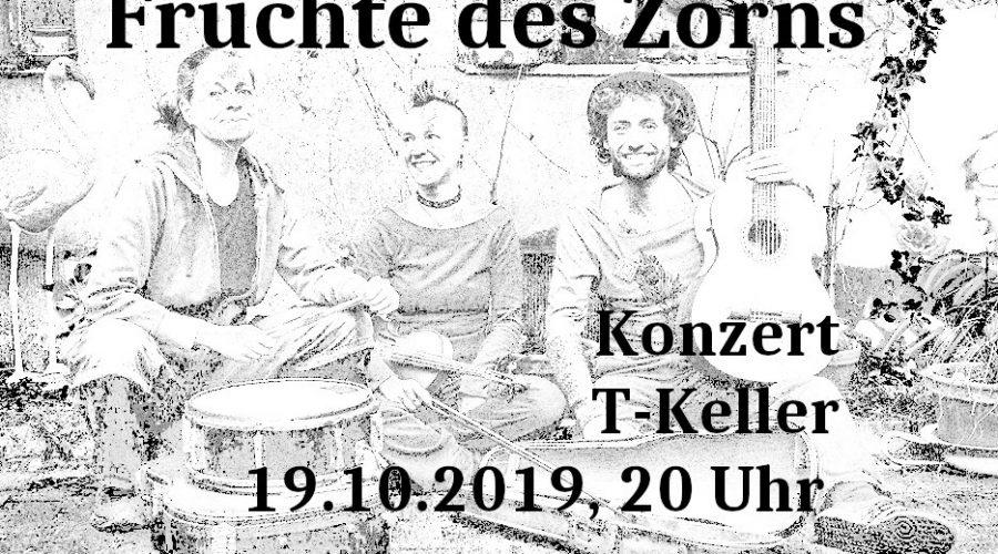 19.10.2019 – Konzert mit Früchte des Zorn und Party