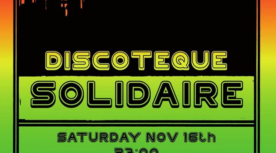 16.11.2019 – Discoteque Solidaire #4 – Soliparty für Iuventa