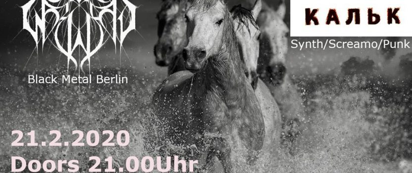 21.02.2020 – Konzert mit Sun Worship & Кальк